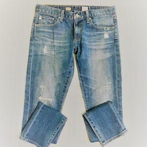 AG Nikki Skinny Relaxed Jeans